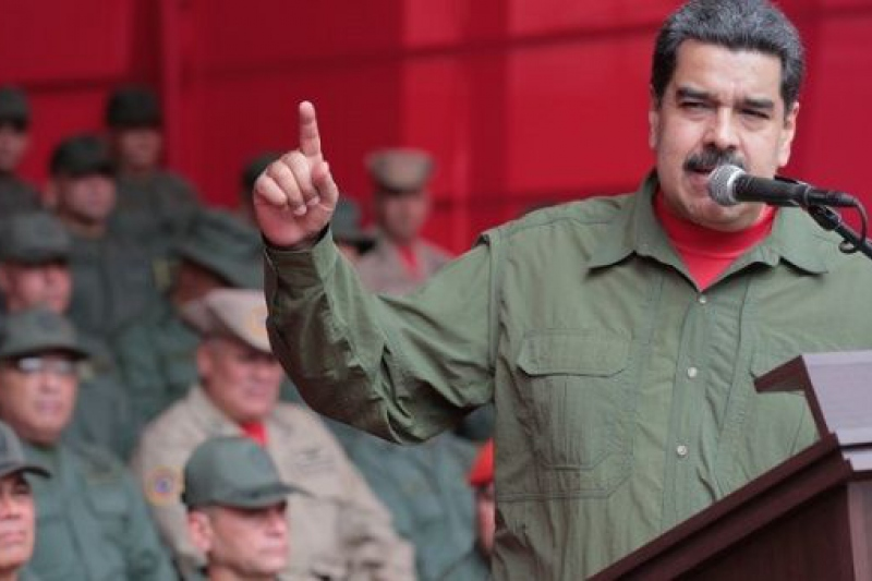 (TeleSur English) Maduro at 2017 year-end military celebration